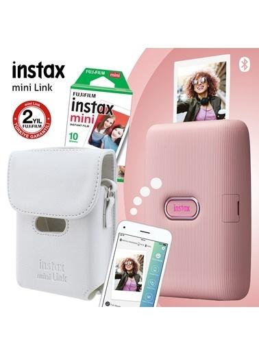 Fujifilm Instax mini Link Pembe Akıllı Yazıcı ve Çantalı Hediye Seti 3 Pembe